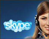 Call us on Skype for free!